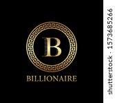letter b logo design  icon... | Shutterstock .eps vector #1573685266