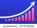 growth vector diagram with an...   Shutterstock .eps vector #1573706230