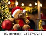 Christmas Gift Toys. Teddy Bear ...
