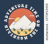 simple design mountain brand...   Shutterstock .eps vector #1573915453
