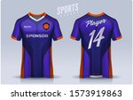 t shirt sport design template ... | Shutterstock .eps vector #1573919863