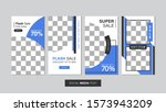 sale mobile template collection ... | Shutterstock .eps vector #1573943209
