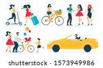 happy people character... | Shutterstock .eps vector #1573949986