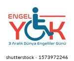 engel yok  3 aral k d nya...   Shutterstock .eps vector #1573972246