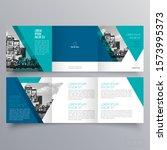 brochure design  brochure... | Shutterstock .eps vector #1573995373