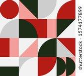 geometry minimalistic artwork... | Shutterstock .eps vector #1574177899