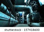 industrial pipelines            ... | Shutterstock . vector #157418600