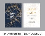 invitation to the wedding  a... | Shutterstock .eps vector #1574206570