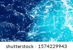 Bright Color Of Sea Water. The ...
