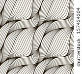 seamless pattern with braids.... | Shutterstock .eps vector #157424204