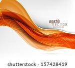 eps10 vector wavy abstract... | Shutterstock .eps vector #157428419