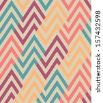 Seamless Ethnic Zigzag Pattern
