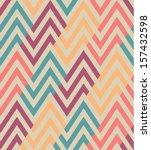 Seamless Ethnic Zigzag Pattern
