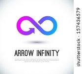 Arrow Infinity Business Vector...