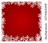 christmas background with white ... | Shutterstock .eps vector #1574565499