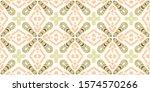 italy tile watercolor. brown...   Shutterstock . vector #1574570266