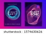 electro event. dynamic gradient ... | Shutterstock .eps vector #1574630626