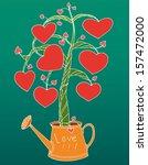 love tree | Shutterstock .eps vector #157472000