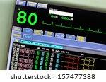 vital signs monitor | Shutterstock . vector #157477388