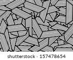 abstract white and black... | Shutterstock .eps vector #157478654