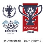 football match  win prize and... | Shutterstock .eps vector #1574790943