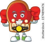 funny boxing gloves cookies... | Shutterstock .eps vector #1574894476