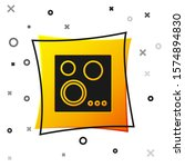 black gas stove icon isolated... | Shutterstock .eps vector #1574894830