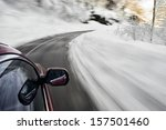winter drive | Shutterstock . vector #157501460