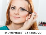 photo of make up artist... | Shutterstock . vector #157505720