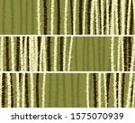 set of horizontal banners with... | Shutterstock .eps vector #1575070939