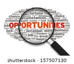 opportunities | Shutterstock . vector #157507130
