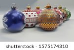 Christmas baubles - Fun fact: Baubles were first invented in Germany, in Lauscha, notably by Hans Greiner, who first manufactured them in the late 1840s.