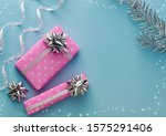 christmas holidays decorations. ... | Shutterstock . vector #1575291406