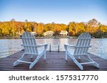 Adirondack Style Chairs On A...