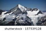 majestic weisshorn  switzerland