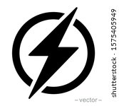 power icon  lightning power icon