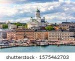 Helsinki Skyline And Helsinki...