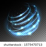 tech light storm effect.... | Shutterstock .eps vector #1575470713