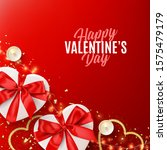 happy valentine's day holiday...   Shutterstock .eps vector #1575479179