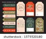 merry christmas printable... | Shutterstock .eps vector #1575520180