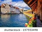 lucerne  switzerland  view on...   Shutterstock . vector #157553498