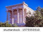 athena nike ancient greeek... | Shutterstock . vector #1575553510