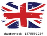 union jack the british naval... | Shutterstock .eps vector #1575591289