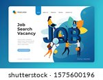 job search vacancy landing page ...