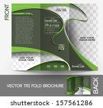 tri fold dental brochure design ...