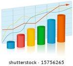 business graph | Shutterstock .eps vector #15756265