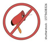 no megaphone allowed icon. loud ...