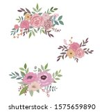 bouquet card special occasion...   Shutterstock . vector #1575659890