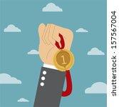 success  | Shutterstock .eps vector #157567004