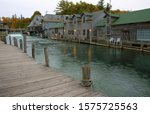 Small fishing town in Michigan.